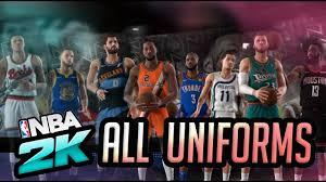 NBA 2K20 - All Uniforms and Jerseys ...