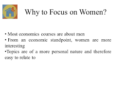 economics of gender chapter assist prof dr meltem ince yenilmez  4 why