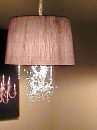 diy drum shade pendant light christina bell black chandelier less cover shades sia archived on