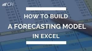 forecast model in excel how to build a forecasting model in excel tutorial corporate