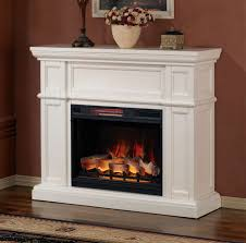 52 artesian white infrared electric fireplace