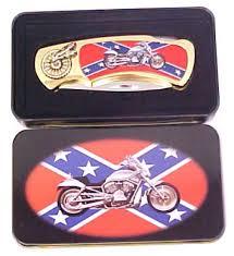 confederate flag motorcycle kpk4040fm