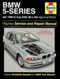 BMW SHOP MANUAL SERVICE REPAIR HAYNES BOOK 5 SERIES 525i 530i 528i ...