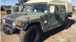 Military Will Finally Sell You A Surplus Humvee Starting At $10,000