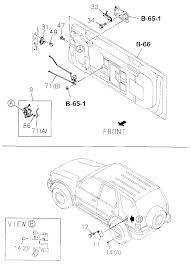 I dont have the test at this time for the rear actuator its either a rod fell off or letter a in the diagram is bad