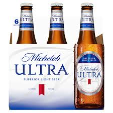 michelob ultra beer 12 oz 6 pk