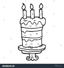 Draw Birthday Cake 488websitedesigncom