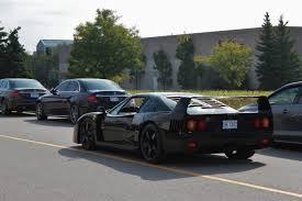 Black Ferrari F40 Fresh From Japan Oc 5184x3456 Carporn