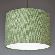 lighting lamp shades. Green Herringbone Harris Tweed Lampshade Lighting Lamp Shades