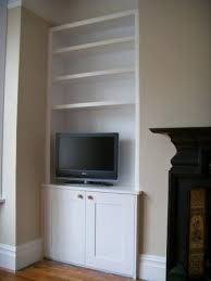 we design make and install bespoke alcove units to suit your home