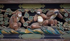Три обезьяны — Википедия