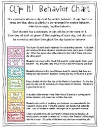 Student Behavior Chart Wittenberg Birnamwood School District Behavior Chart