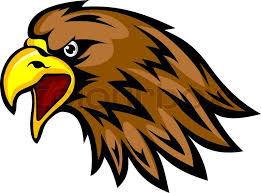 golden eagles mascot. Exellent Mascot Eagle Head In Cartoon Style For Design Mascots Or Emblems Vector  Illustration  Stock Colourbox In Golden Eagles Mascot S