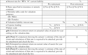 Da Form 5500 Chart Federal Register Proposed Revision Of Annual Information