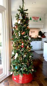 Kitchen Christmas Tree Decorating For Christmas In The Kitchen Stylish Revamp