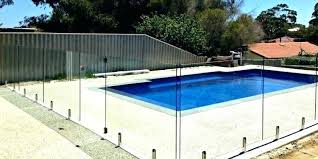 glass pool fencing cost fence per metre brisbane helloawesome glass pool fencing glass pool fencing western