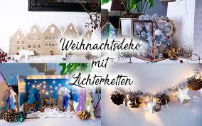 Weihnachtsdeko Mit Lichterketten Basteln 4 Zauberhafte