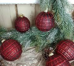 Details Zu Christbaumkugel Rot Weihnachten Shabby Vintage Nostalgie Weihnachten Nr 229