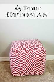 Make Your Own Pouf Ottoman
