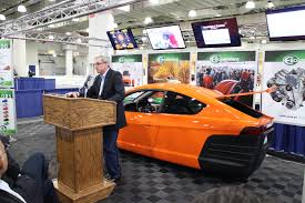 the challenges paul elio faces to launch a three wheel 84 mpg 6 800 car