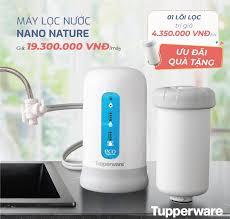 Máy lọc nước Tupperware Nano Nature - Inicio