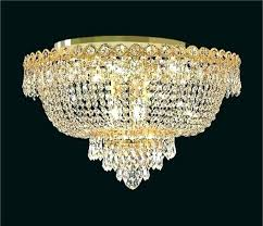 ceiling mounted crystal chandelier flush crystal chandelier ceiling mounted crystal chandelier tranquil
