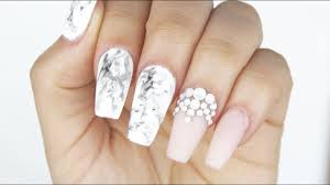 Gel Nail Marble Design How To Gel Marble Nails