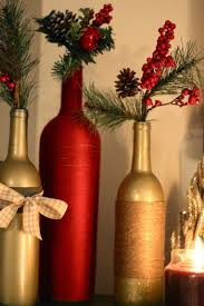 How To Decorate A Wine Bottle For Christmas DIY Holiday Wine Bottles Pretty in the Pines North Carolina 24