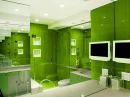 Use brighter shades, such as apple green, to make an impact. In this
