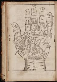 17th Century Palm Reading Chart The Museum Of Ridiculously