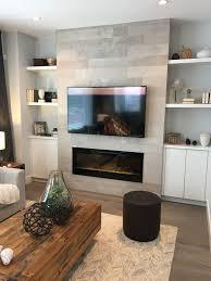 Tv Gas Fireplace Design Tv Gas Fireplace Stone Built Ins Modern Fireplace Decor