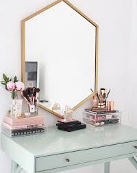 17 gorgeous makeup storage ideas | beauty | vanity organization ideas |  Reuse candle holders +