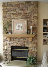 Natural Stone Fireplace Surround Designing Home