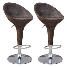 Comfortable Adjustable Outdoor Bar Stools Yakamozclub
