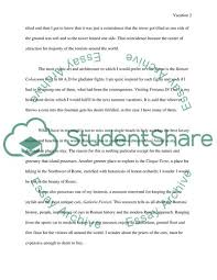 Dream Vacation Essay Dream Vacation Essay Example Topics And Well Written