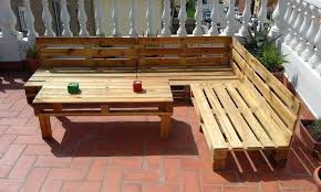pallet outside furniture. How To Build Pallet Patio Furniture Wonderful Outdoor L Shaped Bench Set . Outside S