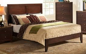 B205 Bedroom Set in Cherry Finish w/Faux Marble Top Casegoods