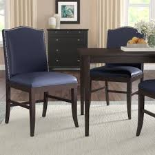 pencewood upholstered dining chair