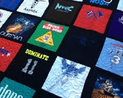Custom tshirt quilt | Etsy & Custom Memory Quilt DEPOSIT for a t shirt quilt, memory quilt, graduation,  or birthday Adamdwight.com