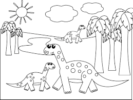 Small Picture Dinosaur Coloring Pages 1 Coloring Kids