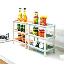 3 tier plastic shelf unit corner organizer cabinet of kitchen storage shelving rack shel