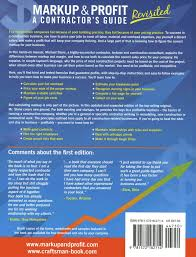 How To Price A Construction Job Markup Profit Revisited Construction Programs Results Inc