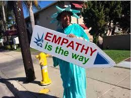 sign twirler sign spinner empathy tent