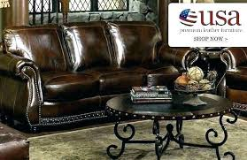 leather furniture reviews made in manufacturers premium usa sofa