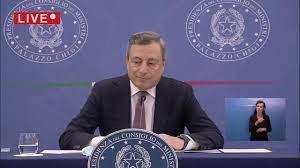 Governo, la conferenza stampa di Mario Draghi e del Ministro Franco -  YouTube