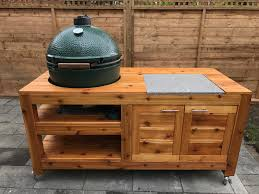 impressing plans for large green egg table of 27345 forazhouse