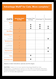 Advantage Ii Dosage Chart For Cats Advantage Ii For Cats Flea Treatment Control For Cats