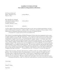 17 Middle School Teacher Cover Letter Elementary Teacher Resume
