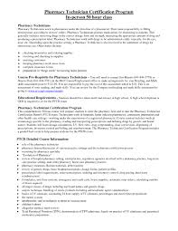 Pharmacy Technician Resume Example Format Doc Vinodomia
