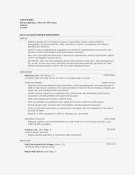Auto Body Technician Job Resume Information Ideas